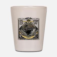 US Navy SWCC USN Shot Glass