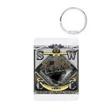 US Navy SWCC USN Aluminum Photo Keychain