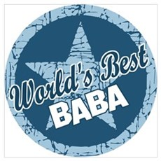 Worlds Best Baba Poster