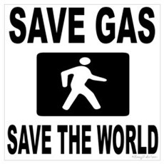 Save Gas Save The World 3 Poster