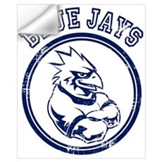 Blue Jays Team Mascot Graphic Wall Decal
