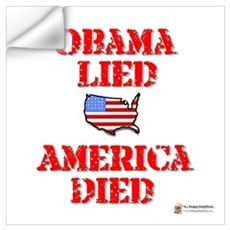 Obama lied Wall Decal