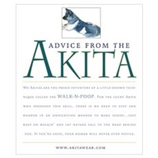 Advice from the Akita: Doody Poster