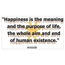Happiness by Aristotle Poster