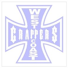 West Coast CRAPPERS Poster
