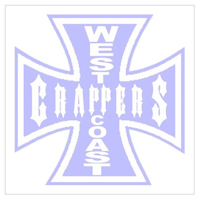 West Coast CRAPPERS Canvas Art