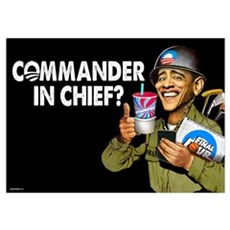 Commander in Chief? Poster
