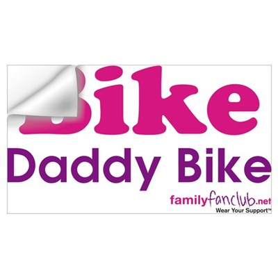 Bike Daddy Bike Wall Decal