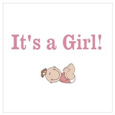 It's a Girl Poster
