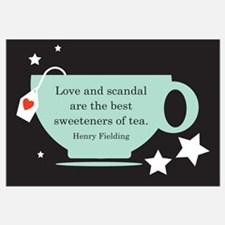 Love & Scandal Tea Quote - He