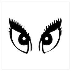 Girly Eyes Poster