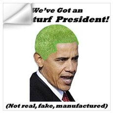 """Astroturf President"" Wall Decal"