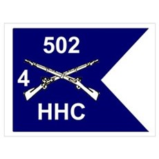 HHC 4/502nd Poster