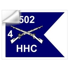 HHC 4/502nd Wall Decal