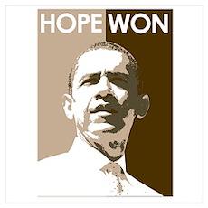 Hope Won Poster
