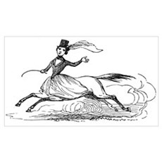 Lady Centaur Poster