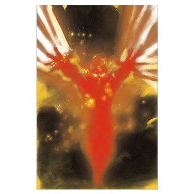 Heroes Exploding Man - Large Poster