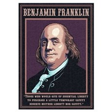 Franklin -Liberty Poster