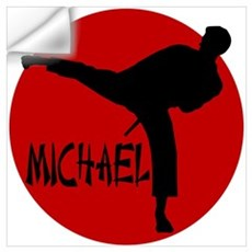 Michael Karate Wall Decal