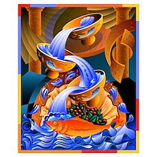 'Fish Ladder' Poster