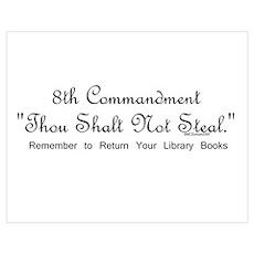 8th Commandment: Thou Shalt N Poster
