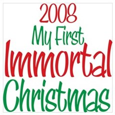 2008 My First Immortal Christmas n Poster