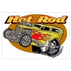 Hot Rod Canvas Art