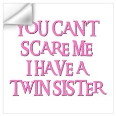 TWIN SISTER Wall Decal