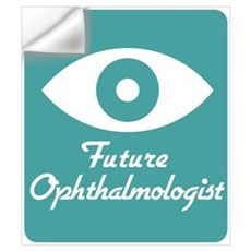 Future Ophthalmologist Wall Decal