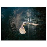 Owl Wrapped Canvas Art