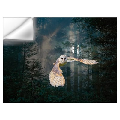 Owl at Midnight Wall Decal