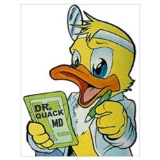 Quackery the Duck, MD Poster