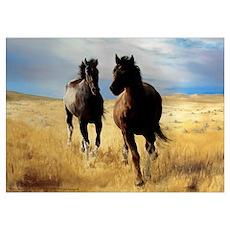 Yantis Mustangs Poster