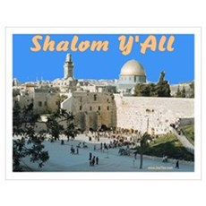 Sukkot Shaom Y'all Western Wa Poster