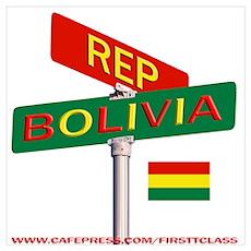 REP BOLIVIA Poster