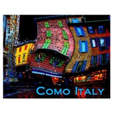 Wacky Travel Gifts - Como, It Poster
