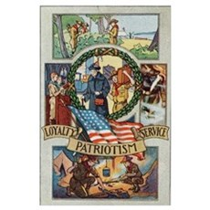 Loyalty Patriotism Service Poster