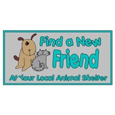 Find a New Friend Framed Print