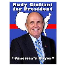America's Mayor Poster