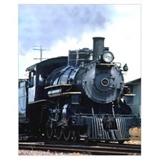 Steam Locomotive 94 Canvas Art