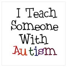 Autism Awareness Teacher Poster