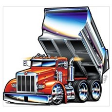 Peterbilt 357 Framed Print