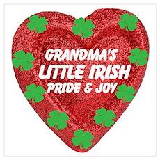 Irish Pride & Joy/Grandma Poster
