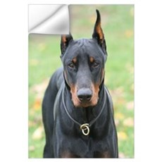 Doberman Wall Decal