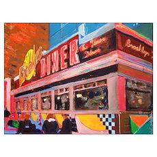 New York Diner Poster