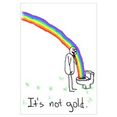 It's Not Gold Framed Print