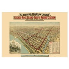 Chicago Illinois Framed Print