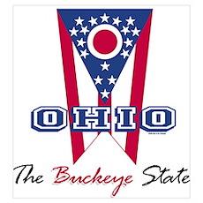 Ohio - The BUCKEYE State Poster