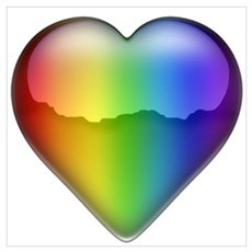 Rainbow Heart 2 Poster