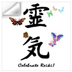 Celebrate Reiki Wall Decal